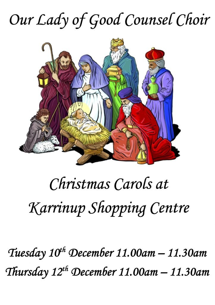 Choir Carols Karrinyup Poster