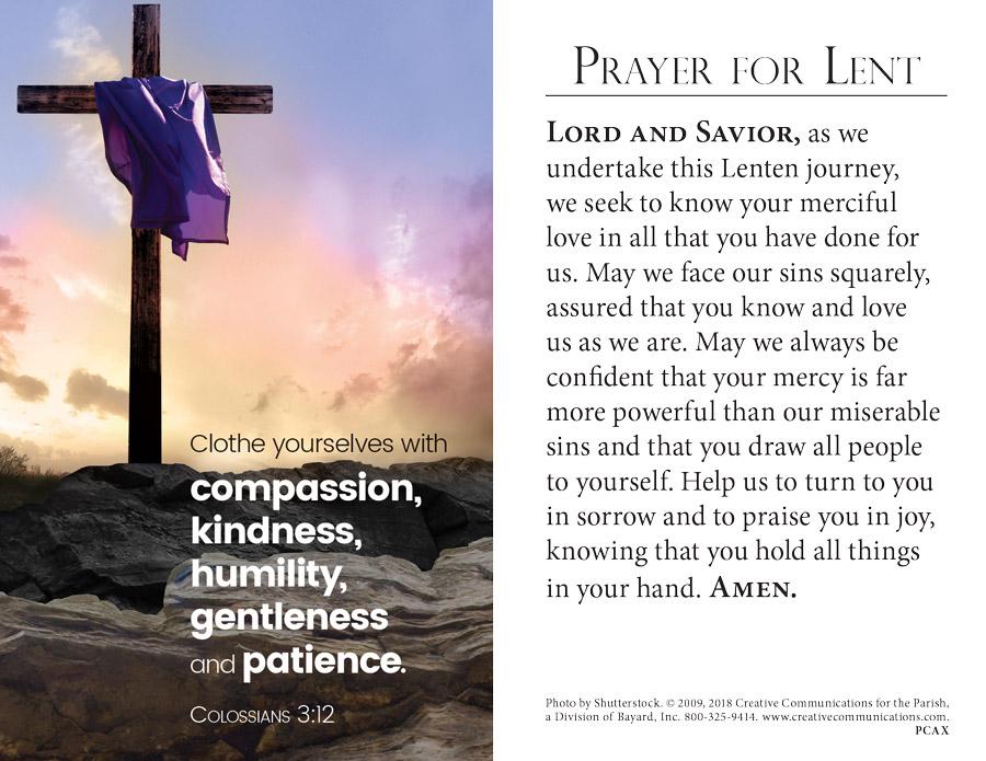 lenten prayer wk5
